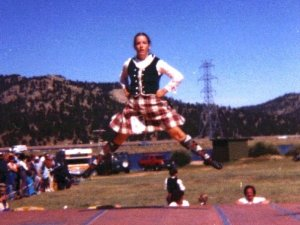 Yup. That's me, as a teenager in Estes Park, Colorado.
