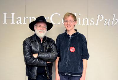 Stefan Bachmann, Terry Pratchett