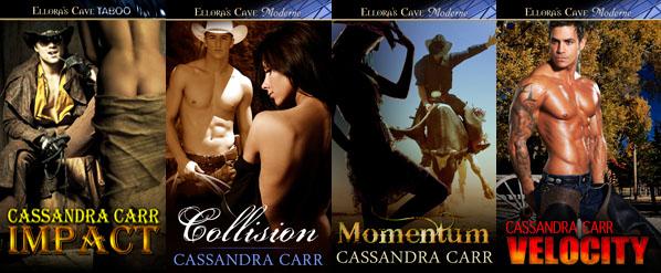 Cassandra Carr's Buckin' Bull Riders series