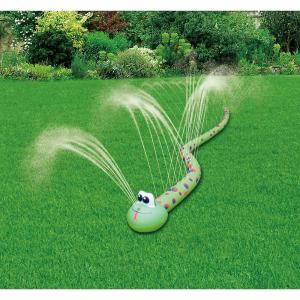 Silly snake water sprinkler