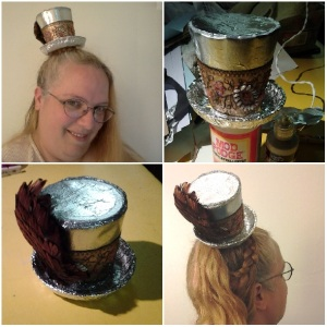 little foil hat collage