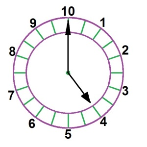 20 hour clock at 4