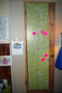 I've started a timeline for my Kingdom Come novels on my closet door.