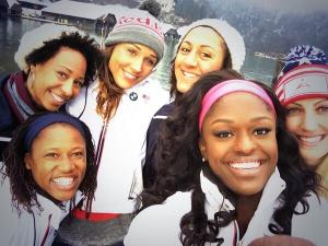 """This is US Women's Bobsled team. Look closely at the skin tones...what would it mean if I described a character as """"black?"""""""