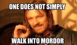 Mordor Meme