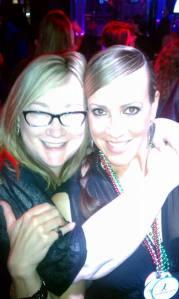 MK with Liz Pelletier of Entangled Publishing