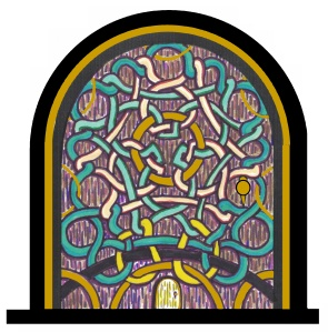 Celtic Door Colored A