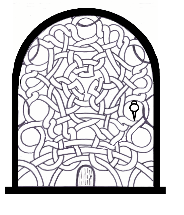 Celtic Knot Door Plain