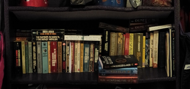 Finding space for everything. Most of my books are, sadly, going to stay boxed in the storage shed.