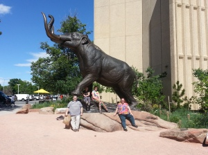We're taking advantage of the free days at Denver's various museums.
