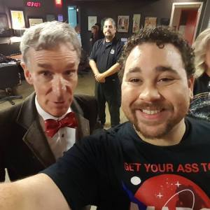 Sparkman with Bill Nye