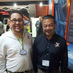 Sparkman and Former astronaut, ISS commander, and CEO of OneOrbit, Dr. Leroy Chiao